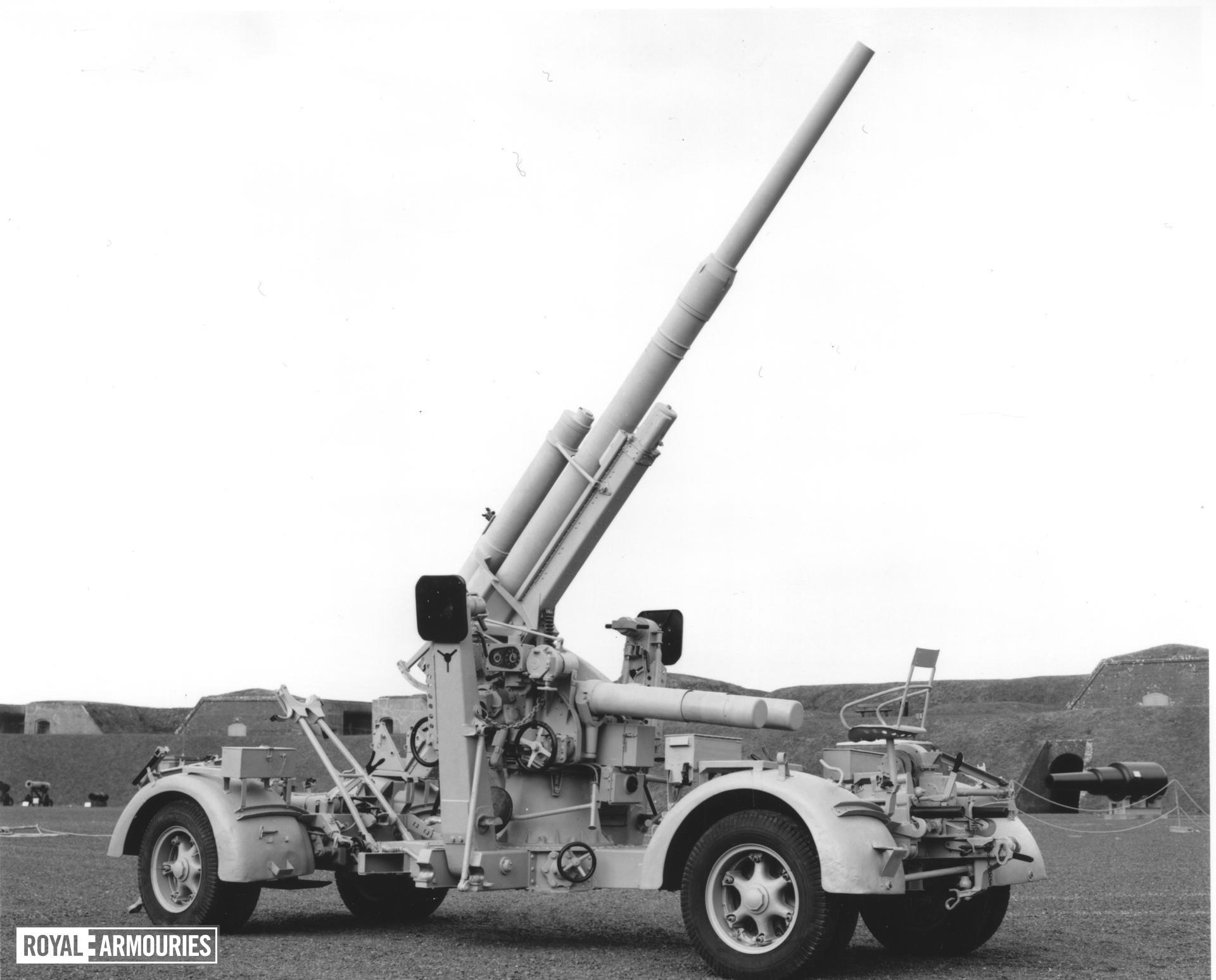 88 mm anti-aircraft gun - 88 mm Flak 36 Can either be used as an anti-aircraft or an anti-tank gun Made of steel By Rheinmetall