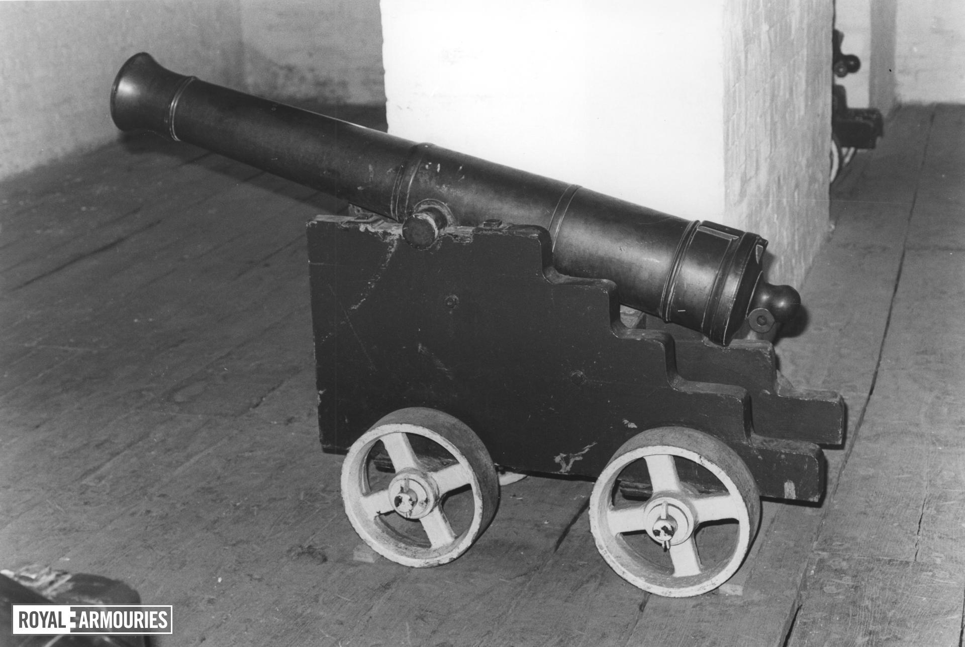 9 pr gun Smoothbore made of bronze
