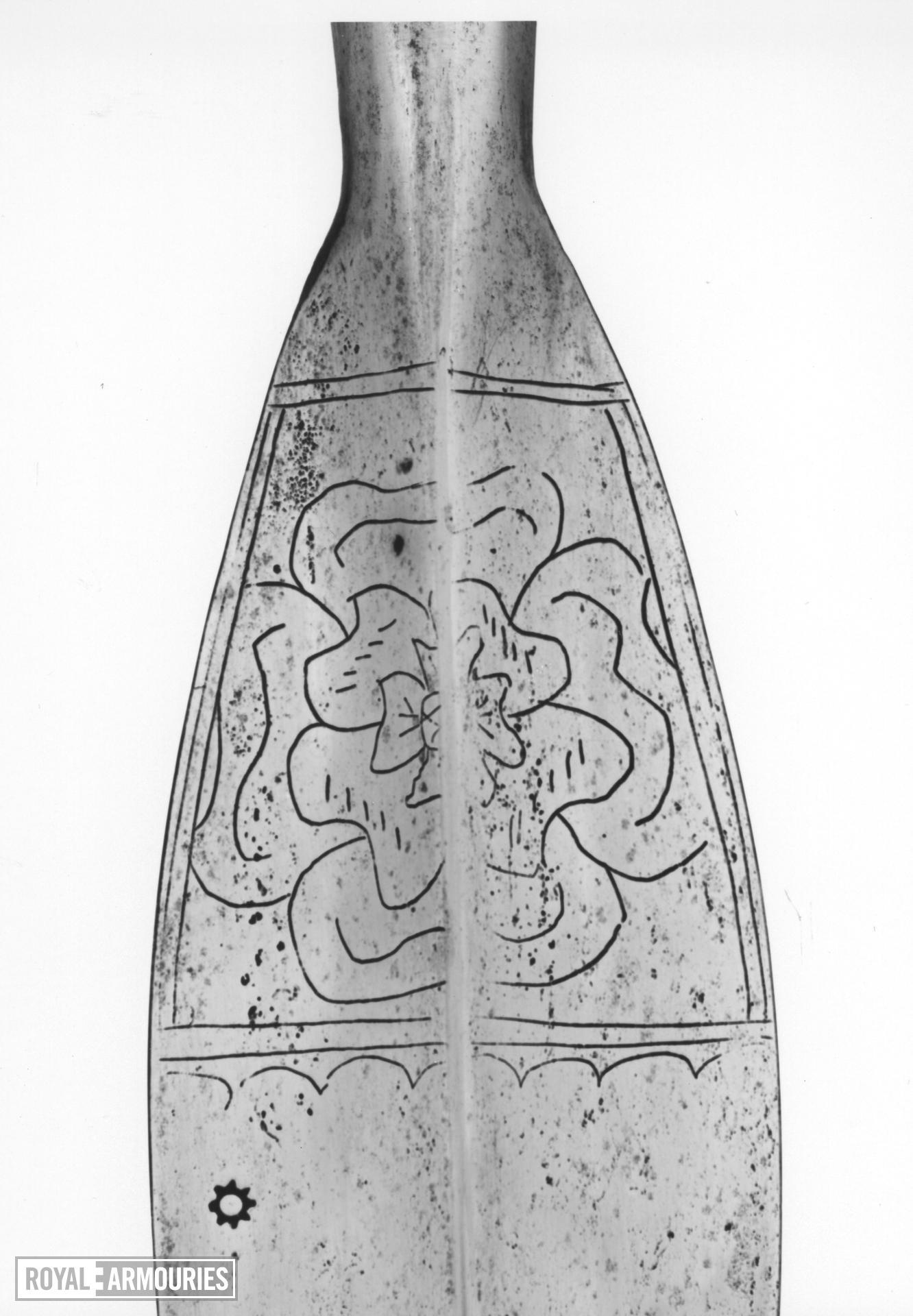 Spear Spear, javelin. Henrician Type A1.