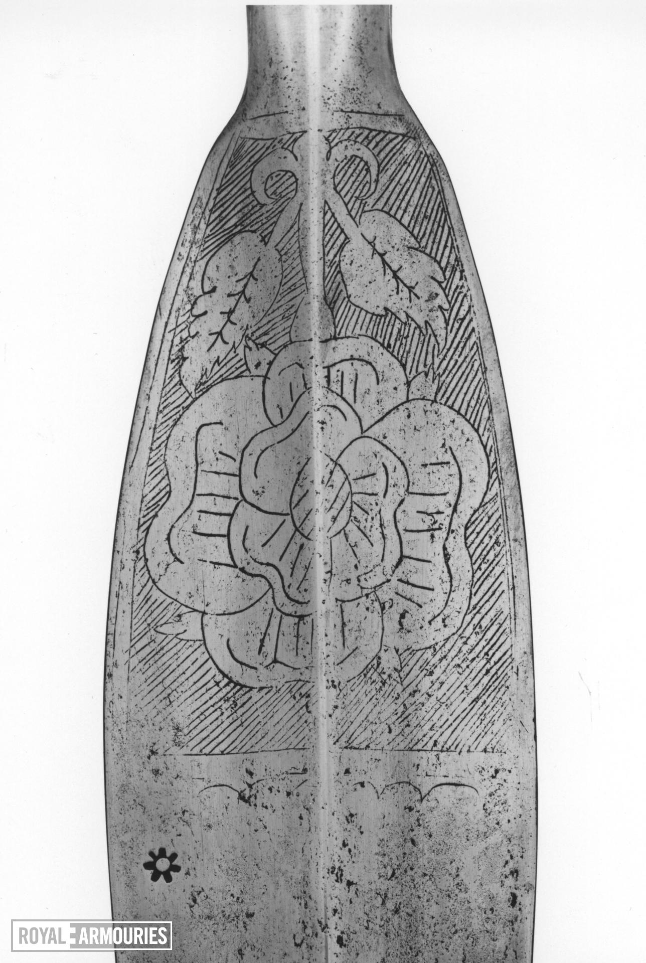 Spear (javelin) Spear, Javelin. Henrician Type A2.