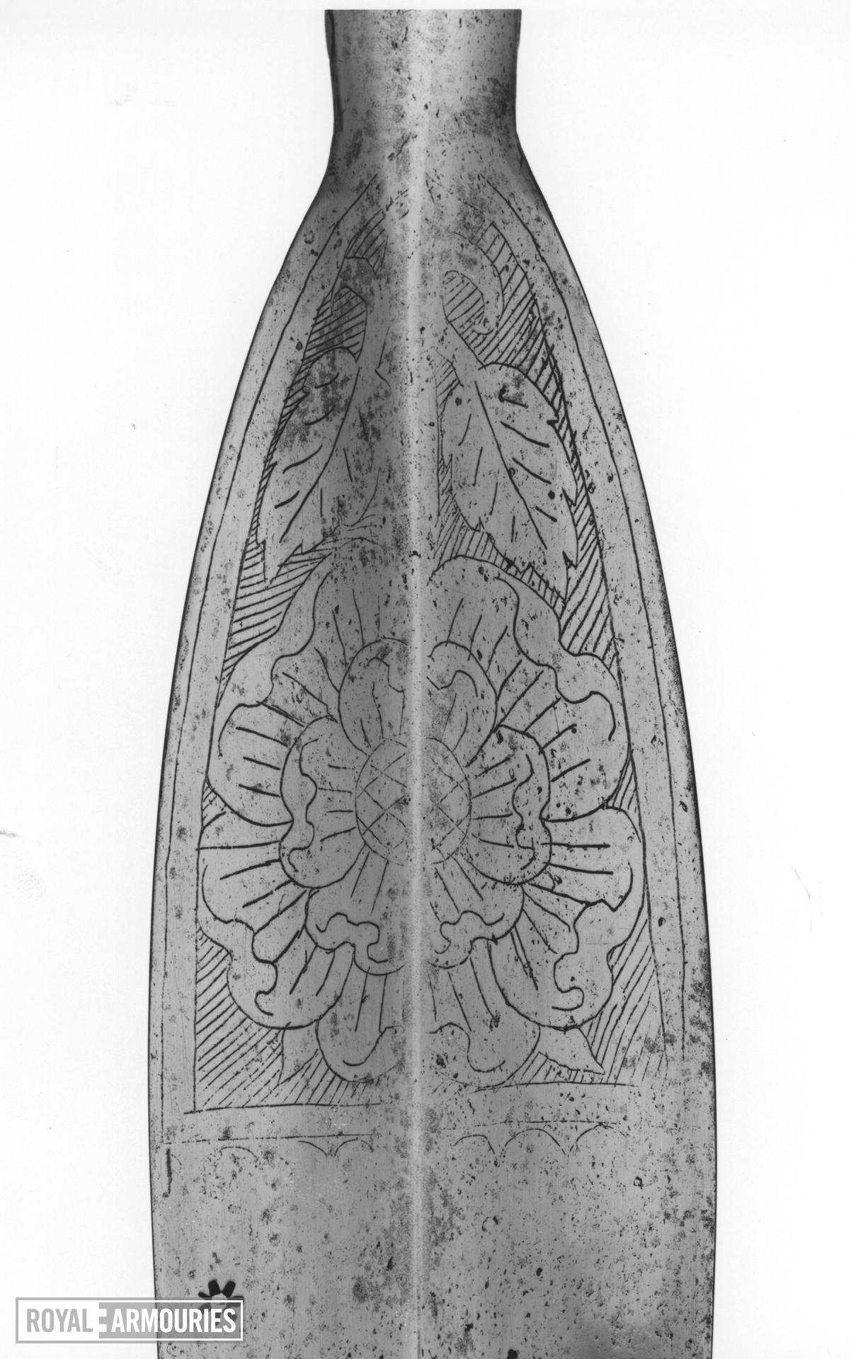 Spear Spear, javelin. Henrician Type A2.