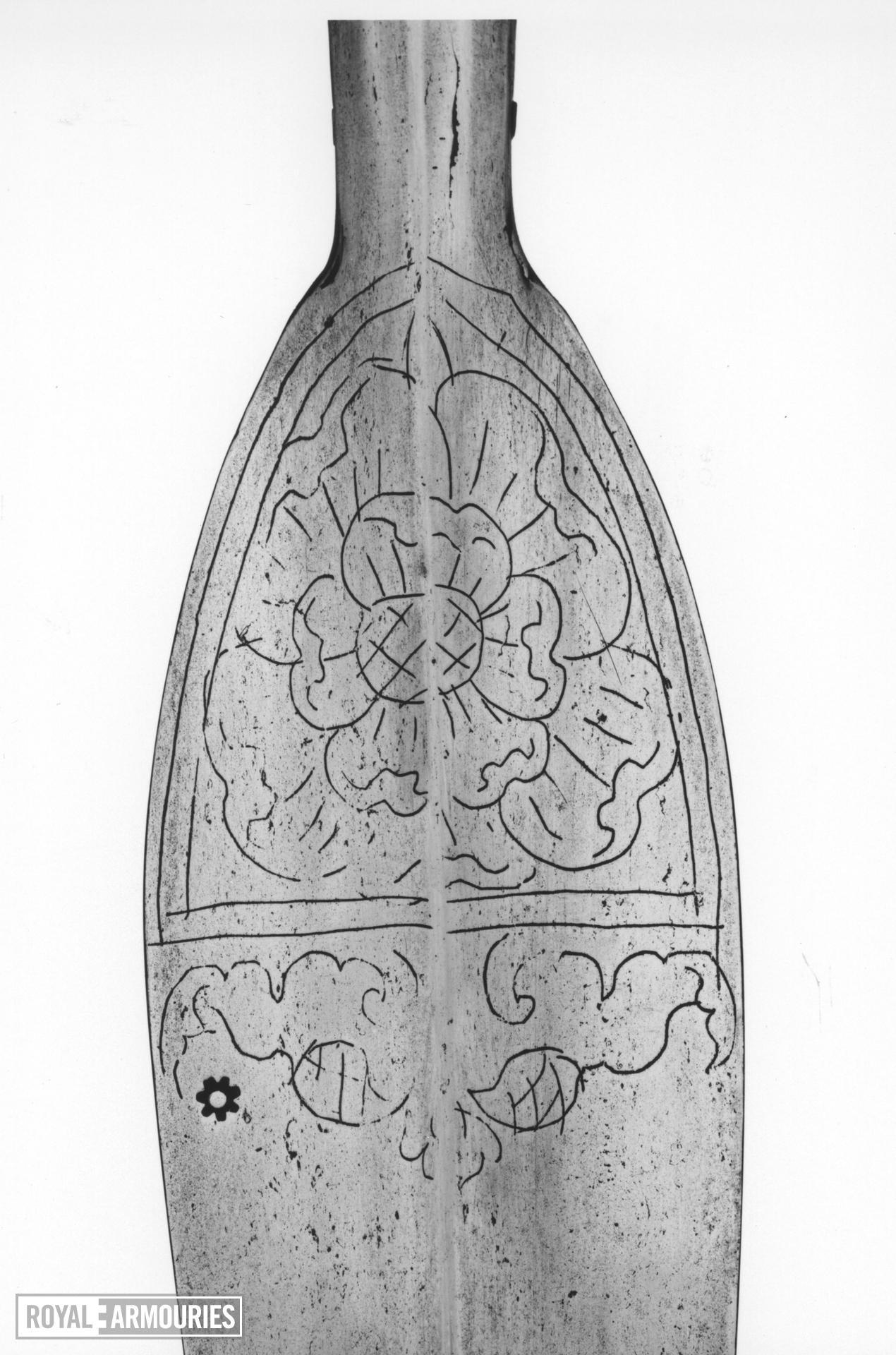Spear Spear, javelin. Henrician Type A0.