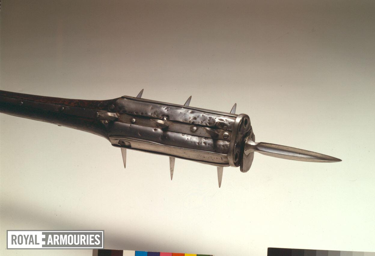 Combination mace and gun - Holy Water Sprinkler Believed to be Henry VIII's