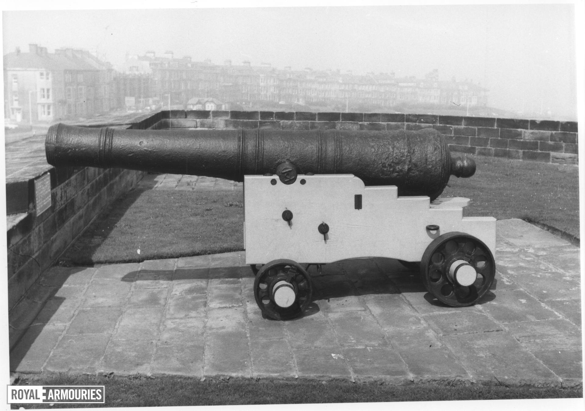 18 pr gun and carriage - Finnbaker Type Made of iron