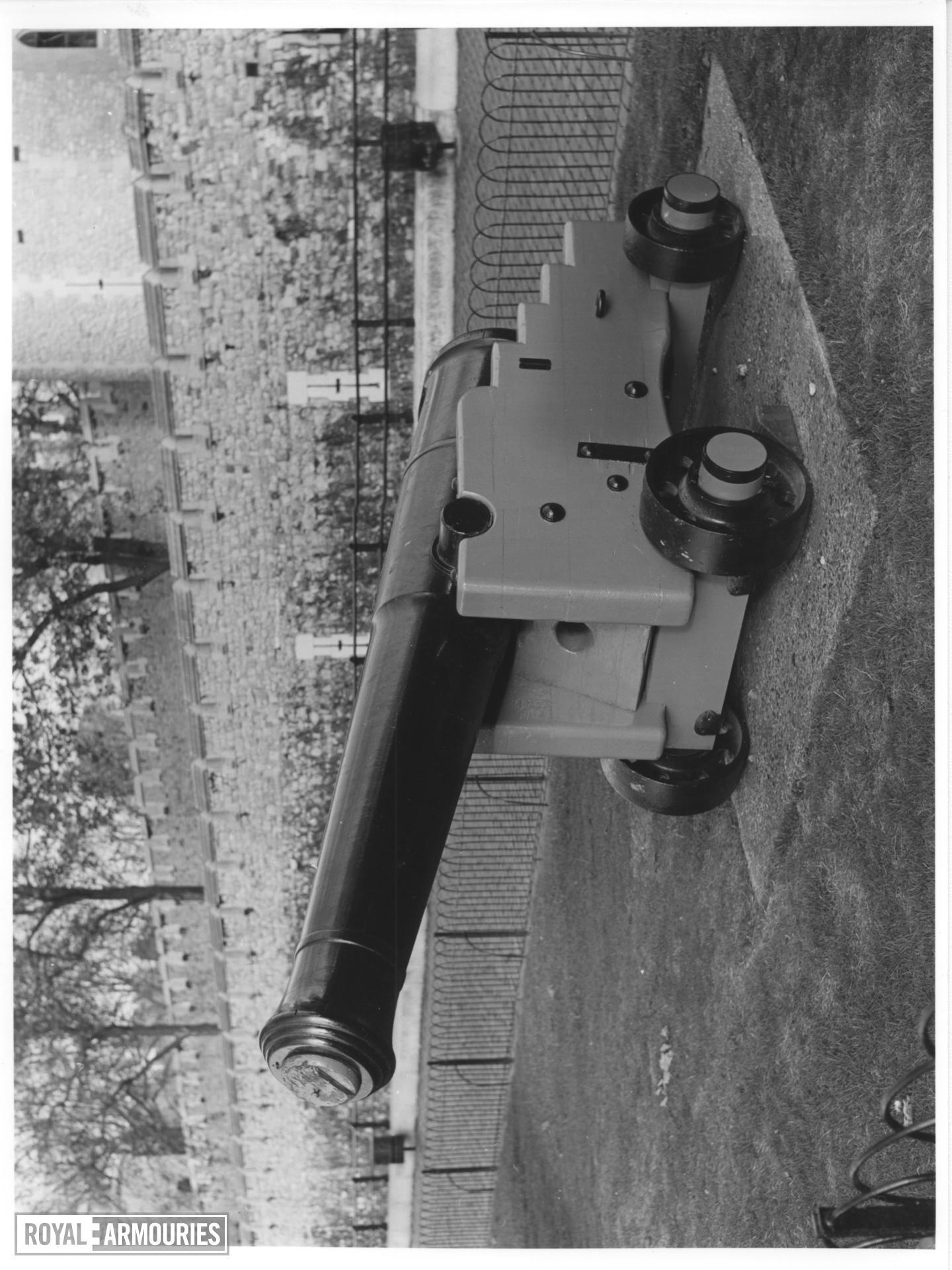 32 pr gun and garrison carriage - Monk Pattern