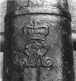 Thumbnail image of 12 pr gun - Blomefield Pattern Made of iron Probably cast by Walker & Co