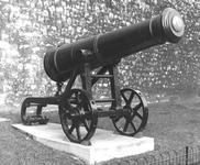 Thumbnail image of 36 pr gun and carriage Made of iron Carriage of contemporary design