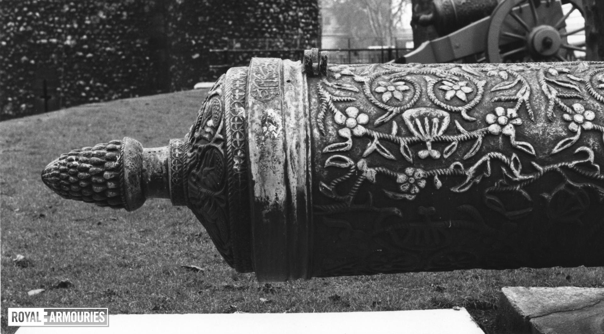 18 pr gun Made of bronze