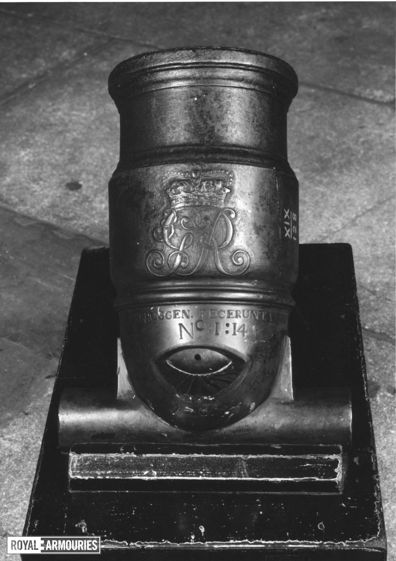4.4 in mortar - Coehorn mortar