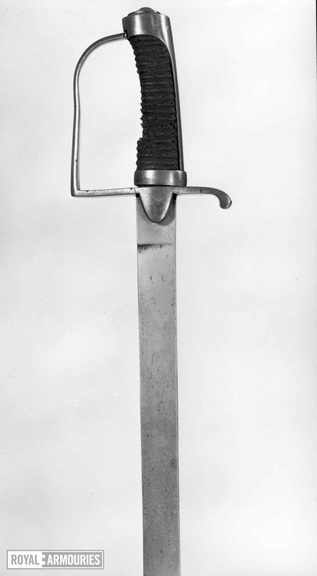 Sword Light Cavalry Trooper's sword, Cavalry type B.