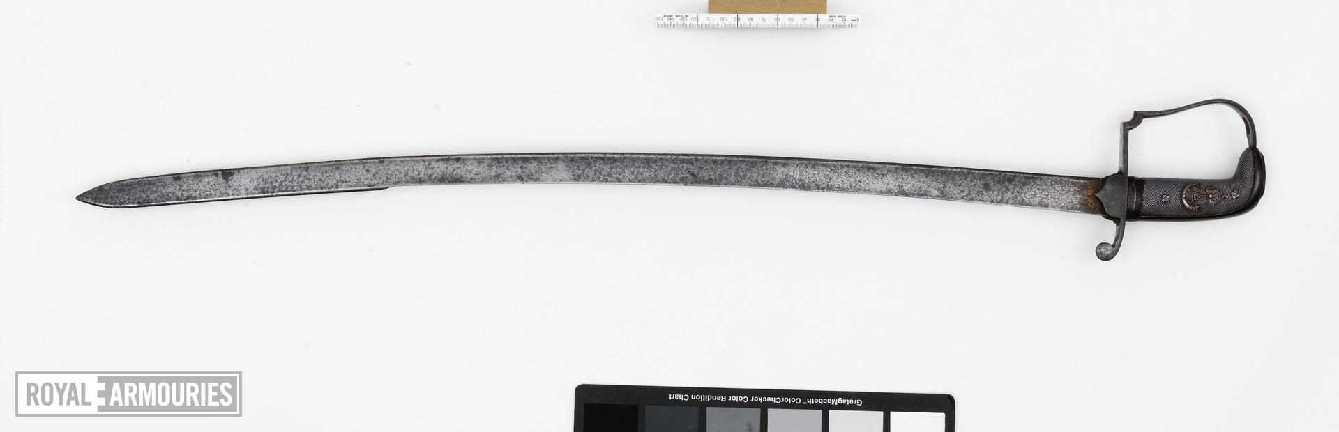 Sword Infantry Officer's sword, 52nd Regiment.