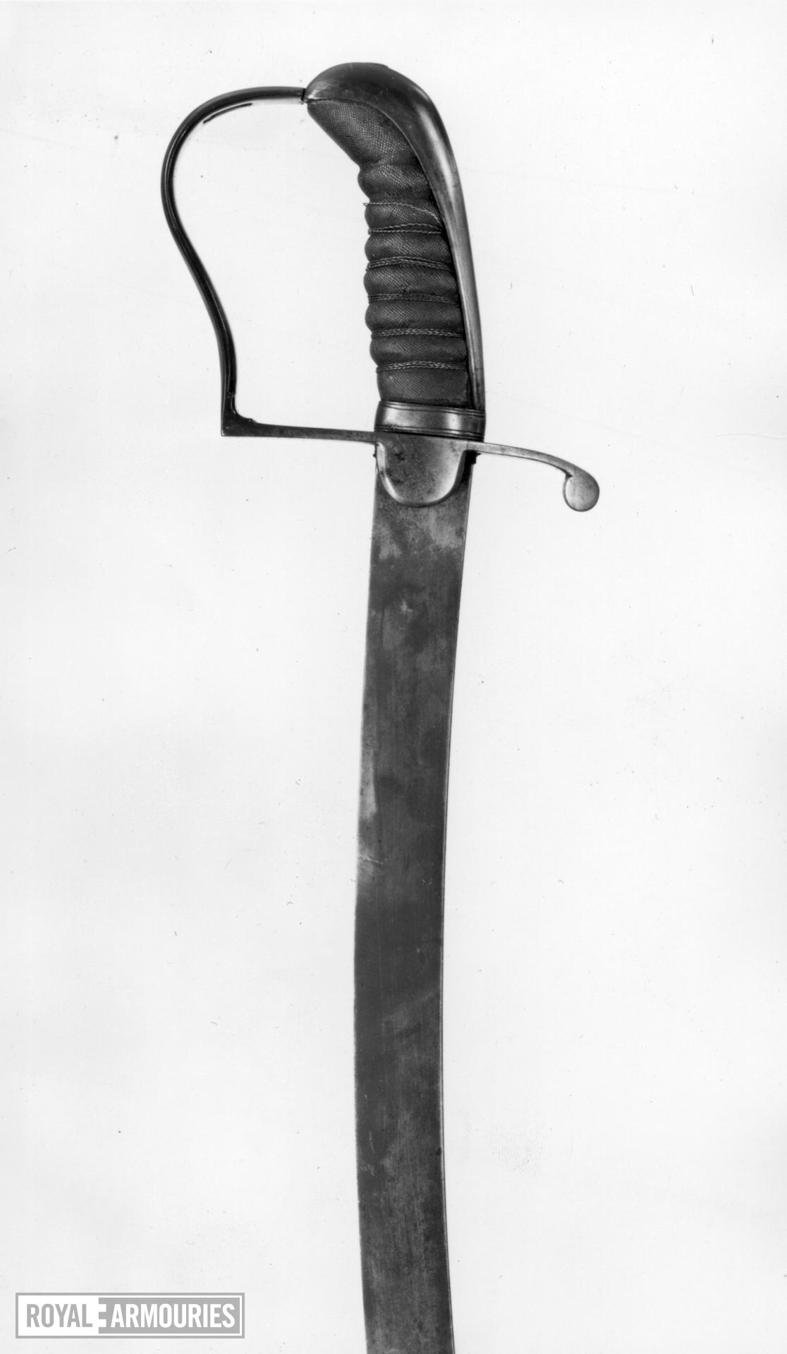 Sword Probably for an Infantry Volunteer