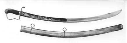 Thumbnail image of Sword and scabbard Sword and scabbard