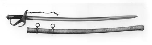 Thumbnail image of Sword and scabbard Model 1860 for cavalry and the Royal Horse carabineer toopers ('sciabola da Cavalleria Mod.1860 e da Carabinieri Reali a Cavallo')