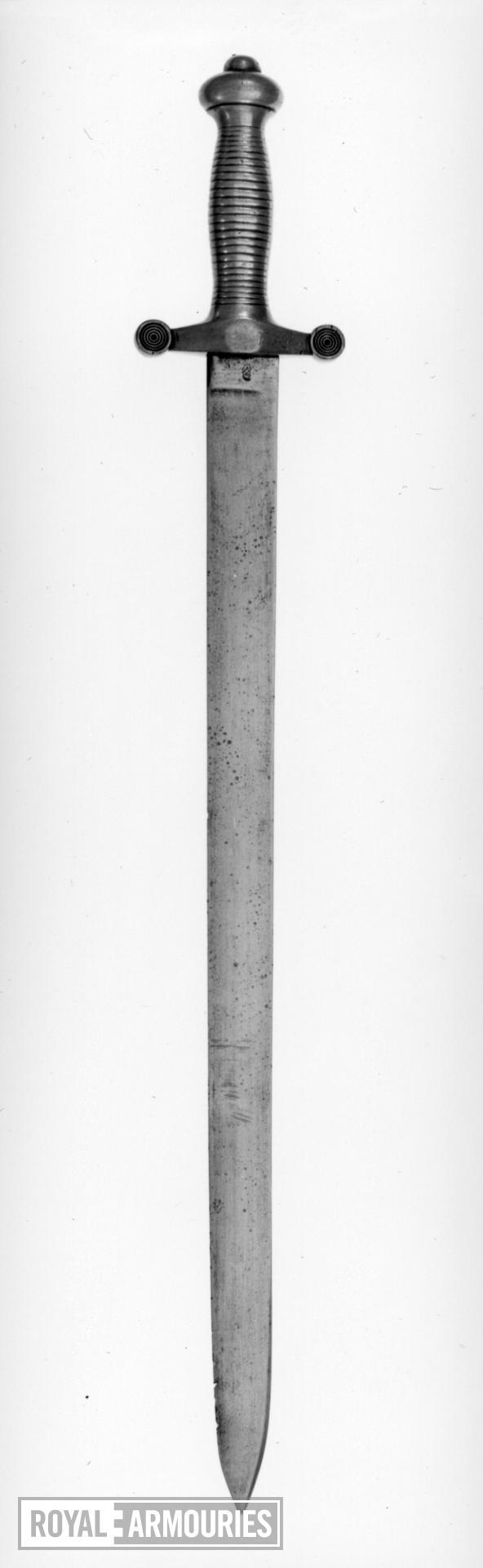 Sword - Land Transport Corps sword