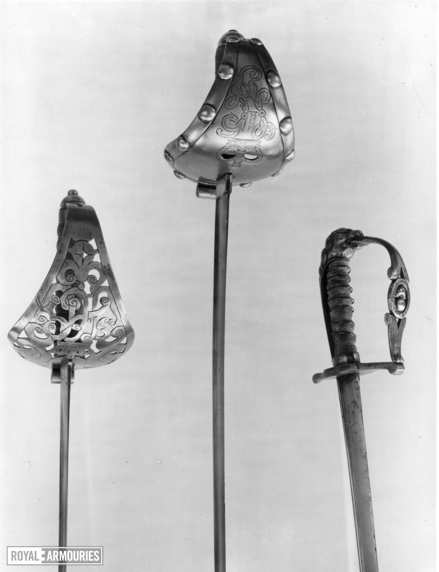 Sword Life Guard trooper sword, Pattern 1892.