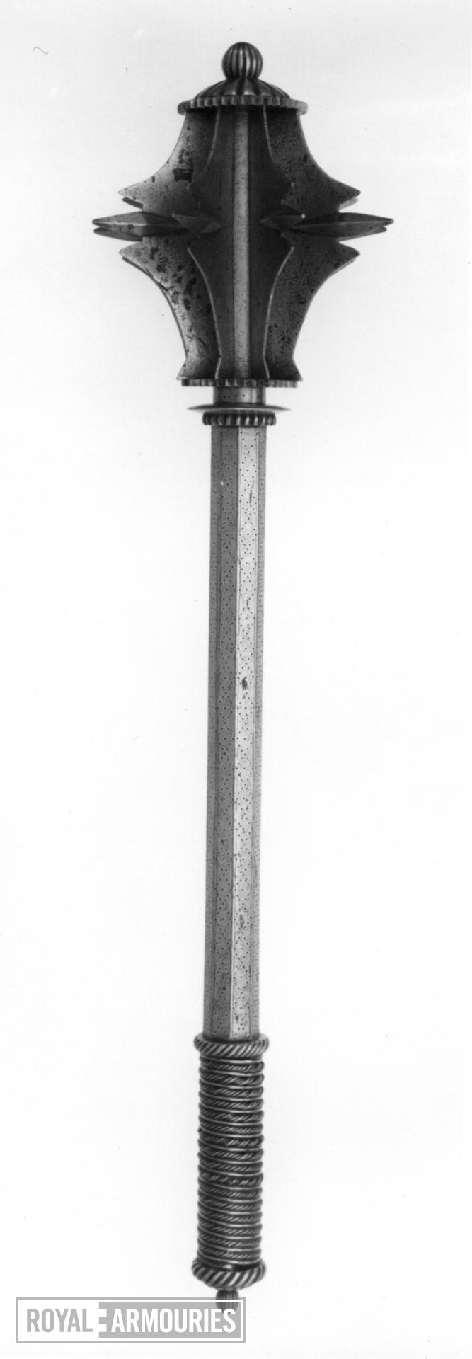 Mace Mace in the style of the 16th century