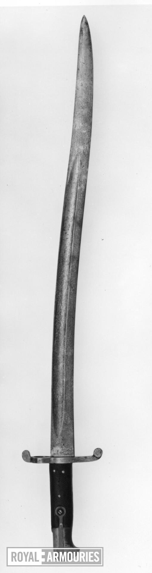 Bayonet Sword bayonet for Snider rifle