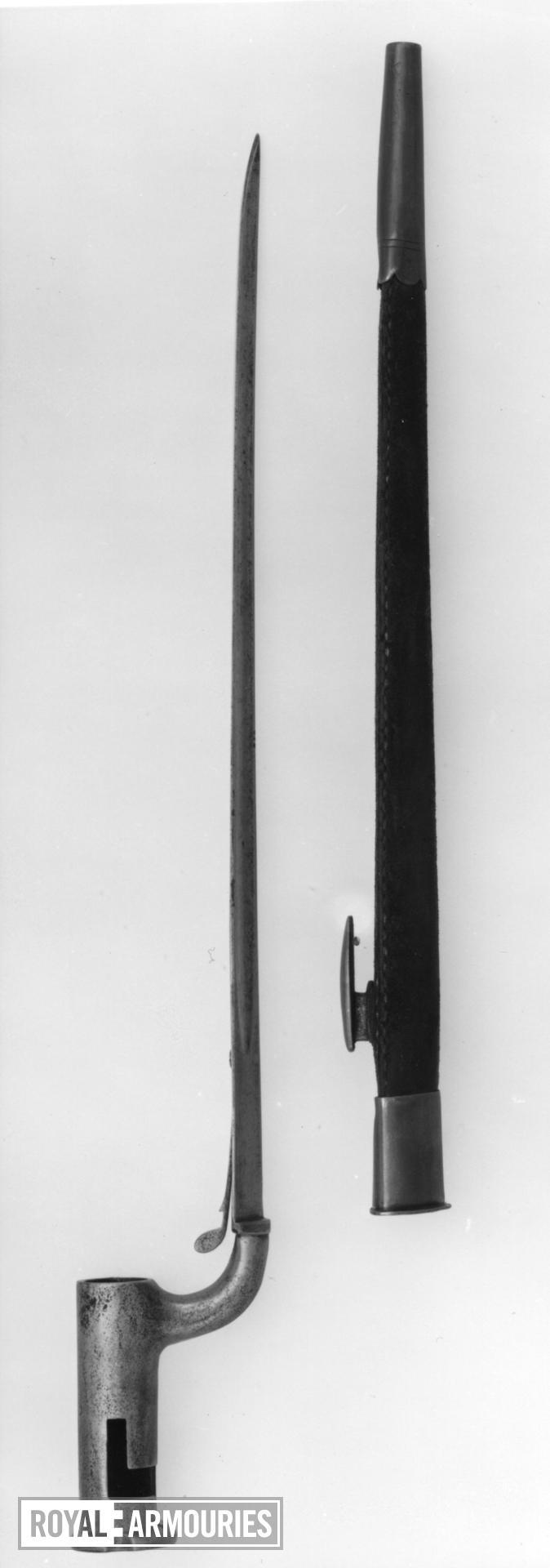 Bayonet and scabbard