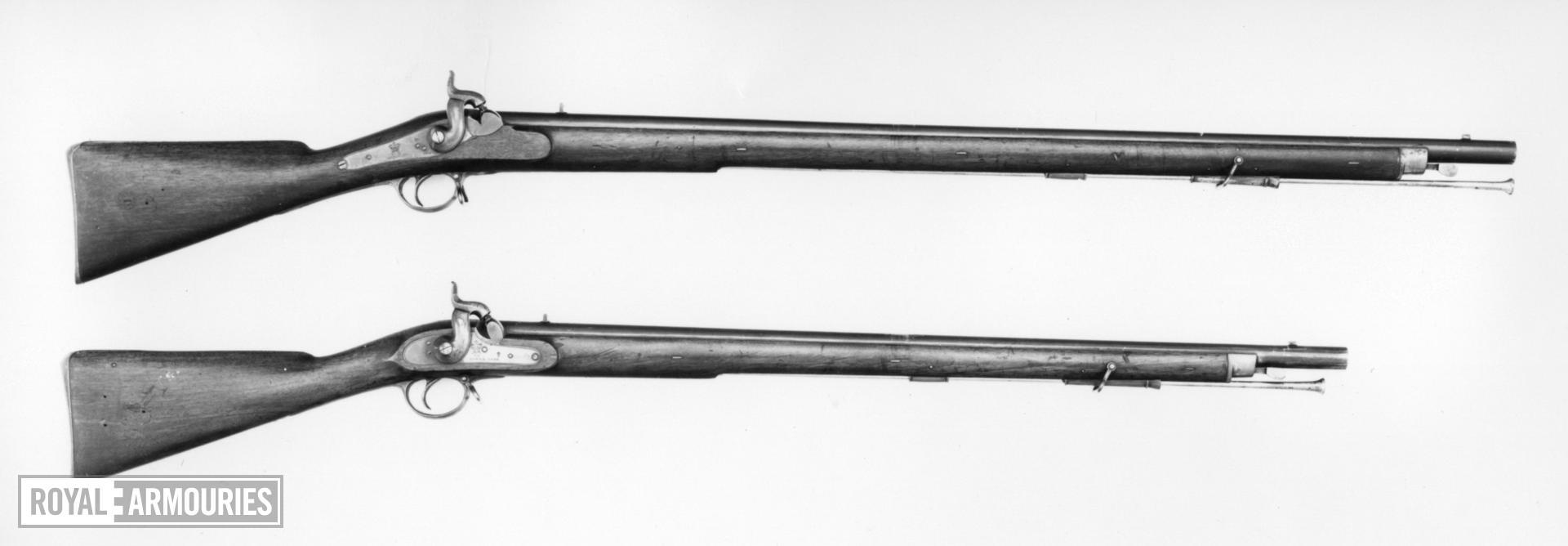 Percussion muzzle-loading military musket - Pattern 1838