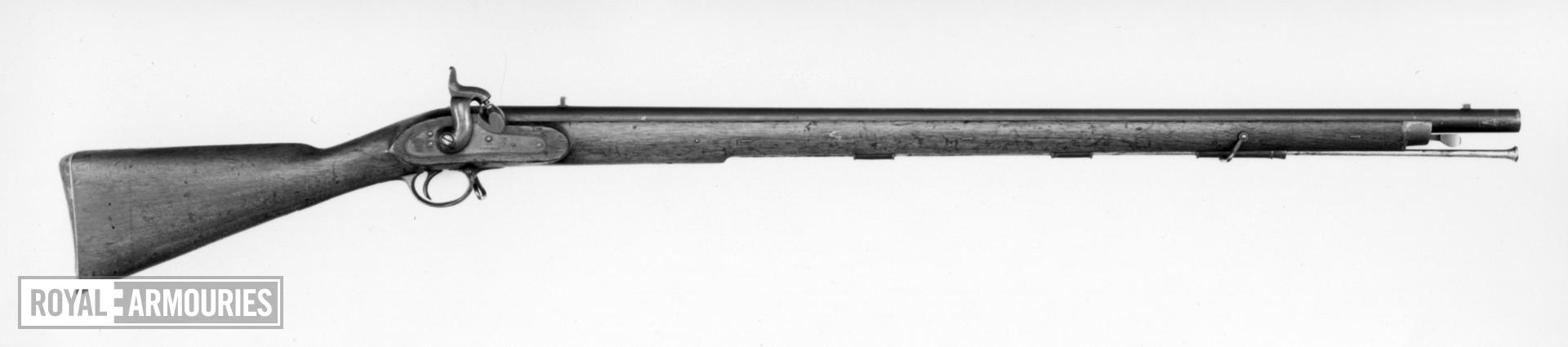 Percussion muzzle-loading military musket - Pattern 1842