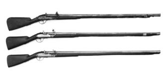 Thumbnail image of Matchlock muzzle-loading musket - Service type