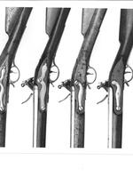 Thumbnail image of Flintlock muzzle-loading military musket - Pattern 1779 Short Land Wartime production.