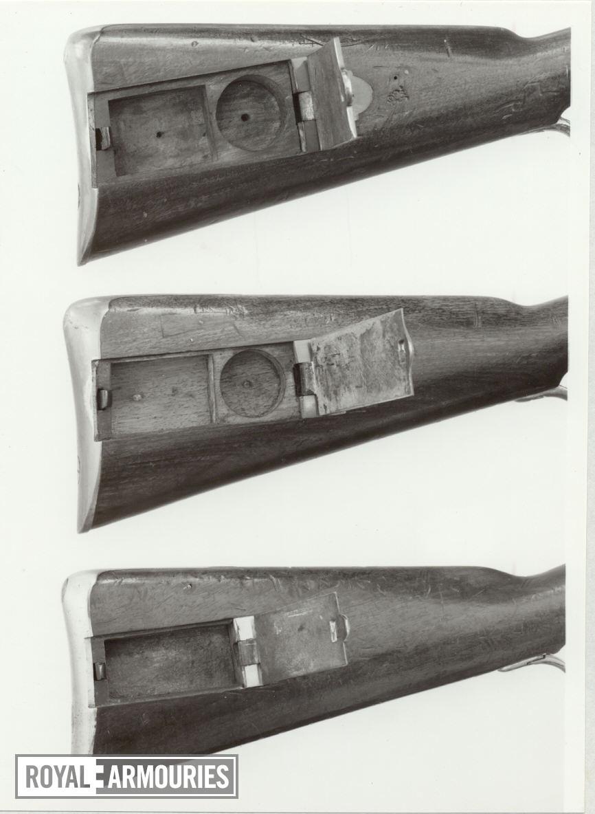 Flintlock muzzle-loading rifle - Baker Rifle