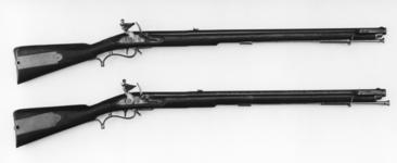 Thumbnail image of Flintlock muzzle-loading rifle - Baker Rifle