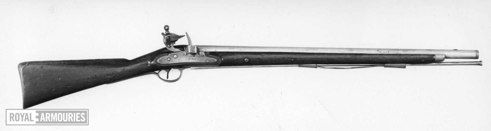 Flintlock muzzle-loading carbine - Harcourt Heavy Dragoon Carbine Pattern 1793