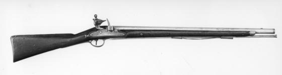 Thumbnail image of Flintlock muzzle-loading carbine - Harcourt Heavy Dragoon Carbine Pattern 1793 With Nock screwless lock