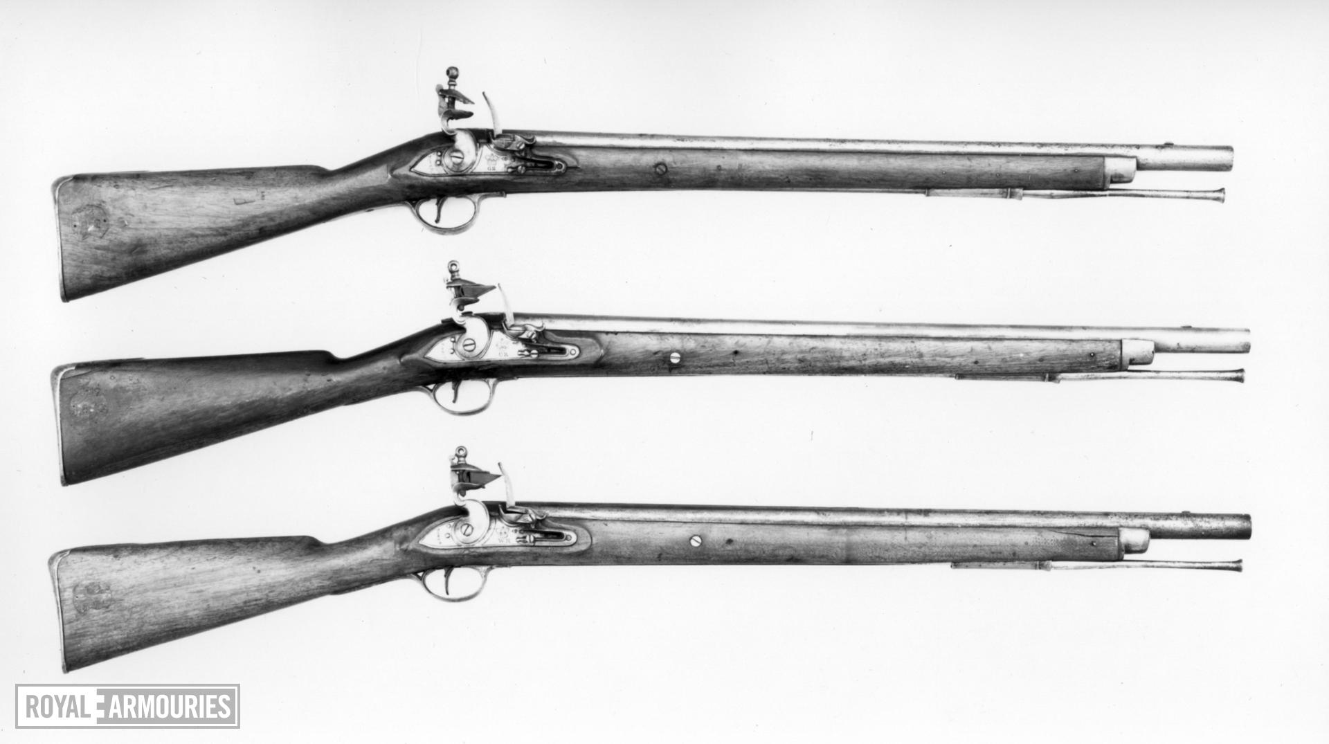Flintlock muzzle-loading military carbine - Pattern 1796 Heavy Dragoon Carbine