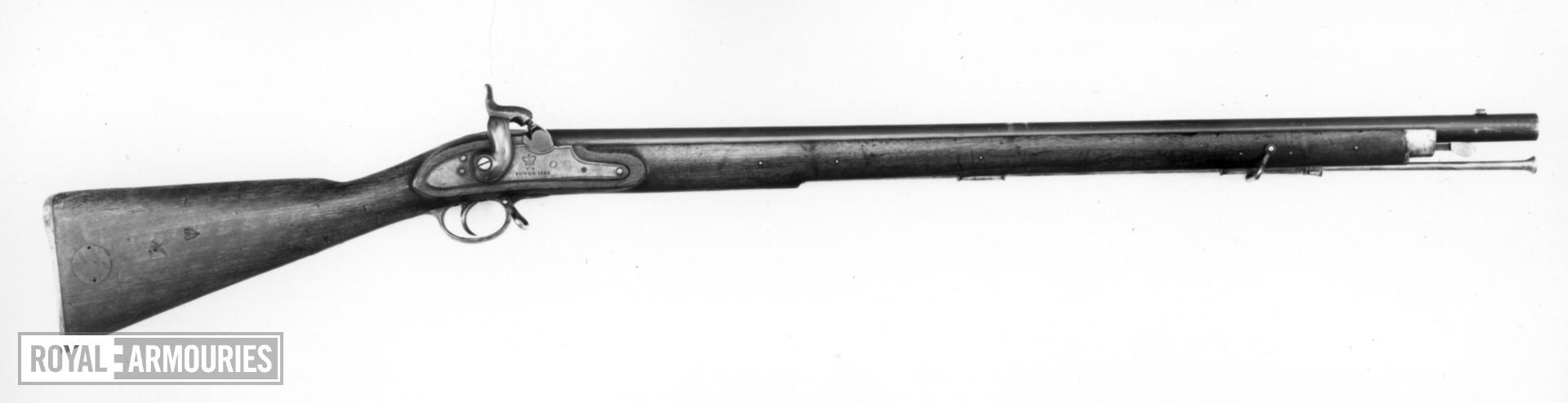 Percussion muzzle-loading military musket - Pattern 1845 Sea Service