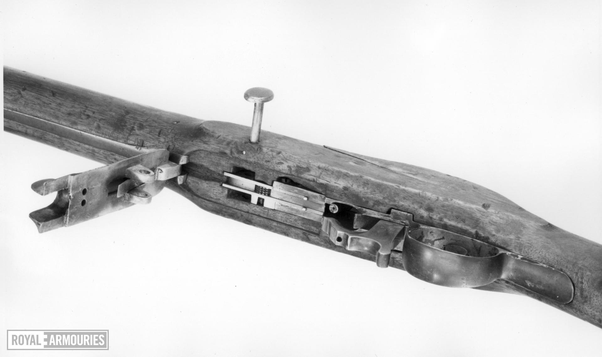 Percussion muzzle-loading musket - Heurteloup Musket