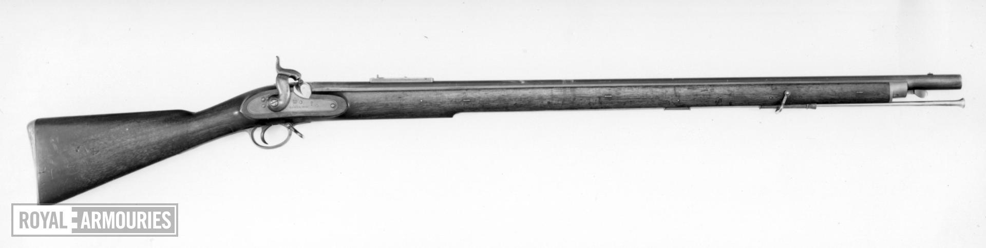 Percussion muzzle-loading military musket - Pattern 1842