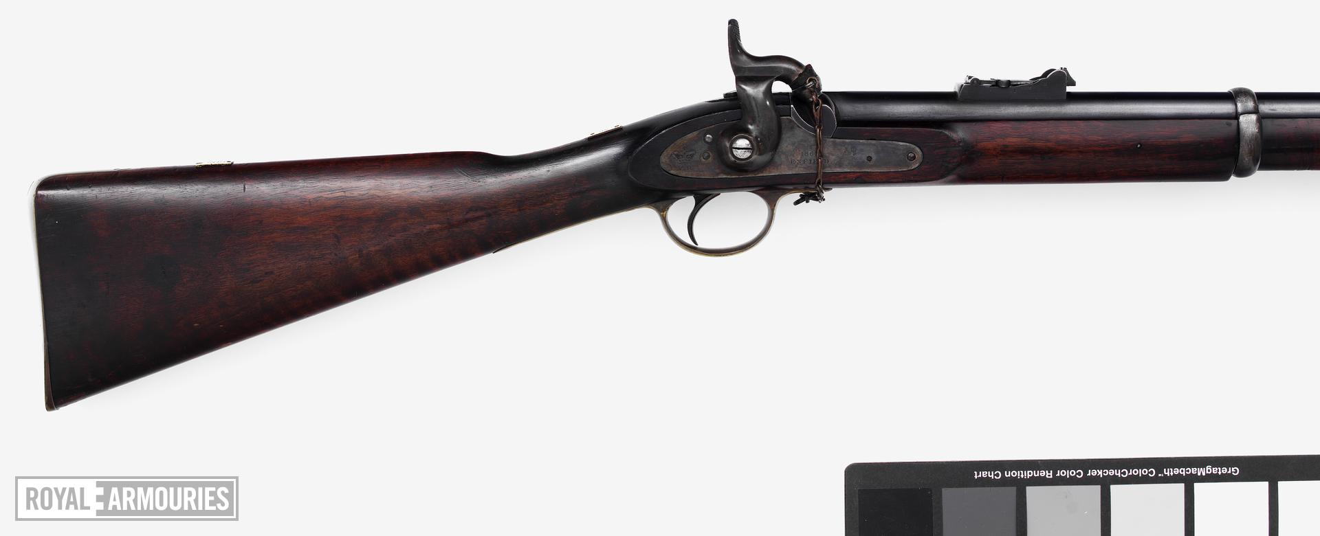 Percussion muzzle-loading military rifle-musket - Pattern 1853 Assemblage made up from various pattern 1853 parts