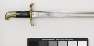 Thumbnail image of Bayonet Sword bayonet, Pattern 1855 for Sappers and Miners