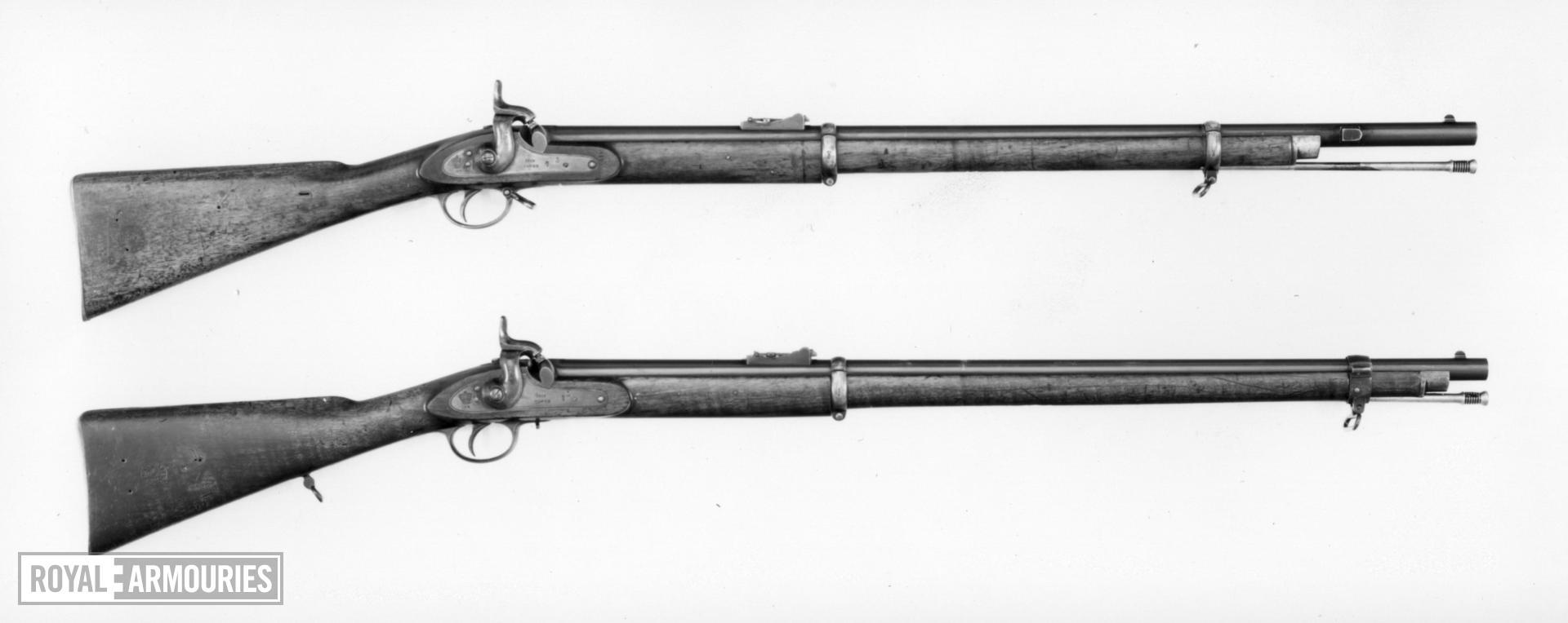 Percussion muzzle-loading rifle - Pattern 1853