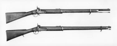 Thumbnail image of Percussion muzzle-loading rifle - Pattern 1853 Short Sea Service model