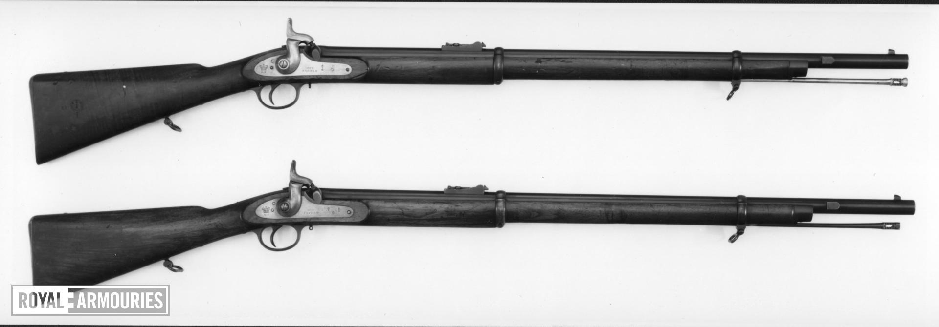 Percussion muzzle-loading rifle - Pattern 1861
