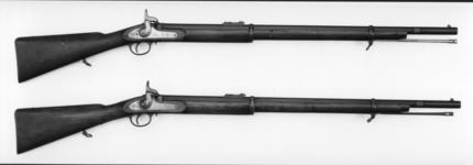 Thumbnail image of Percussion muzzle-loading rifle - Pattern 1861 Short model
