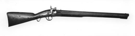 Thumbnail image of Percussion breech-loading military carbine - Jenkes Patent William Jenkes Patent of 1835
