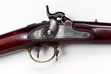 Thumbnail image of Percussion breech-loading military carbine - By F. A. Braendlin Storm's patent
