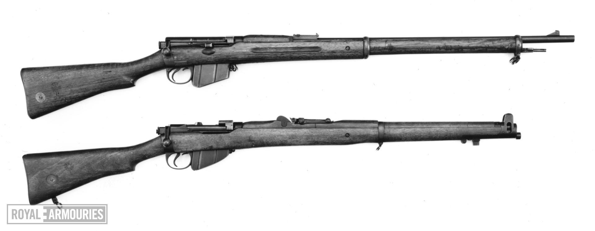 Centrefire bolt-action magazine rifle - Lee-Metford Mk. I