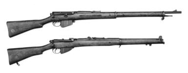 Thumbnail image of Centrefire bolt-action magazine rifle - Lee-Metford Mk. I Modified