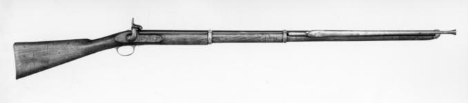 Thumbnail image of Bayonet practice fencing musket - for gymnasium, sealed pattern based on Pattern 1853