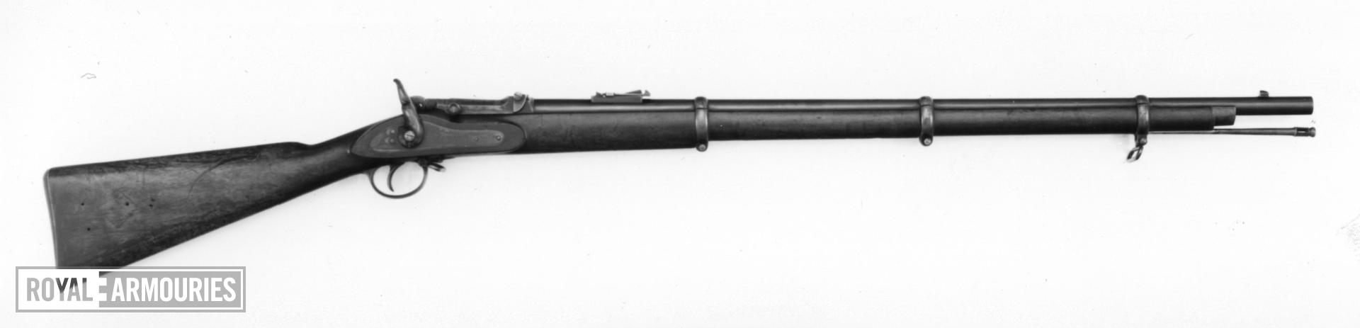 Centrefire breech-loading rifle - Braendlin-Albini No. 6