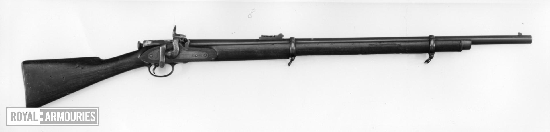 Percussion breech-loading military rifle - Albini Patent