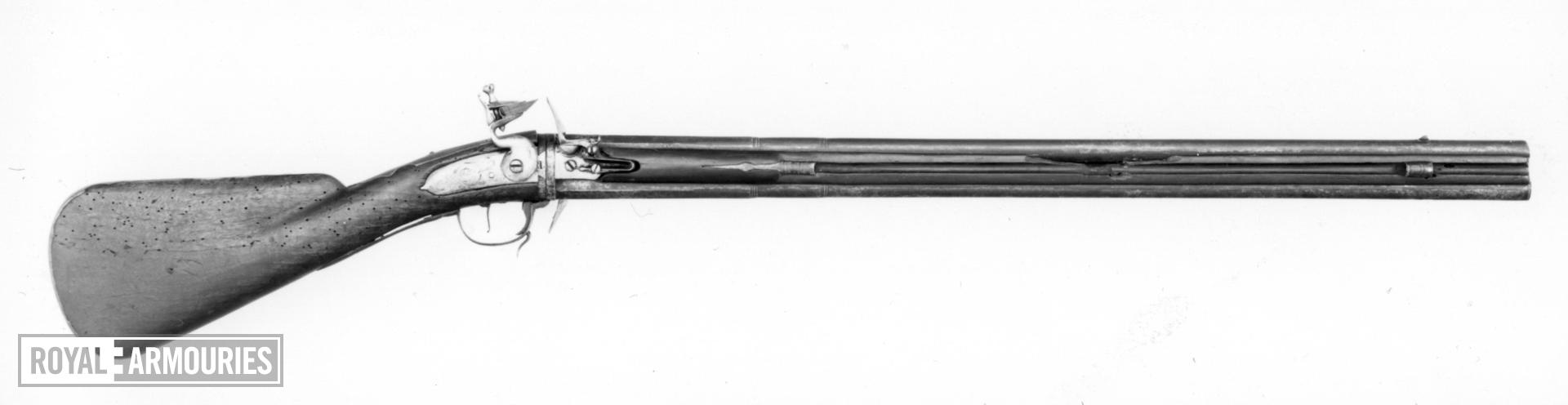 Flintlock sporting gun