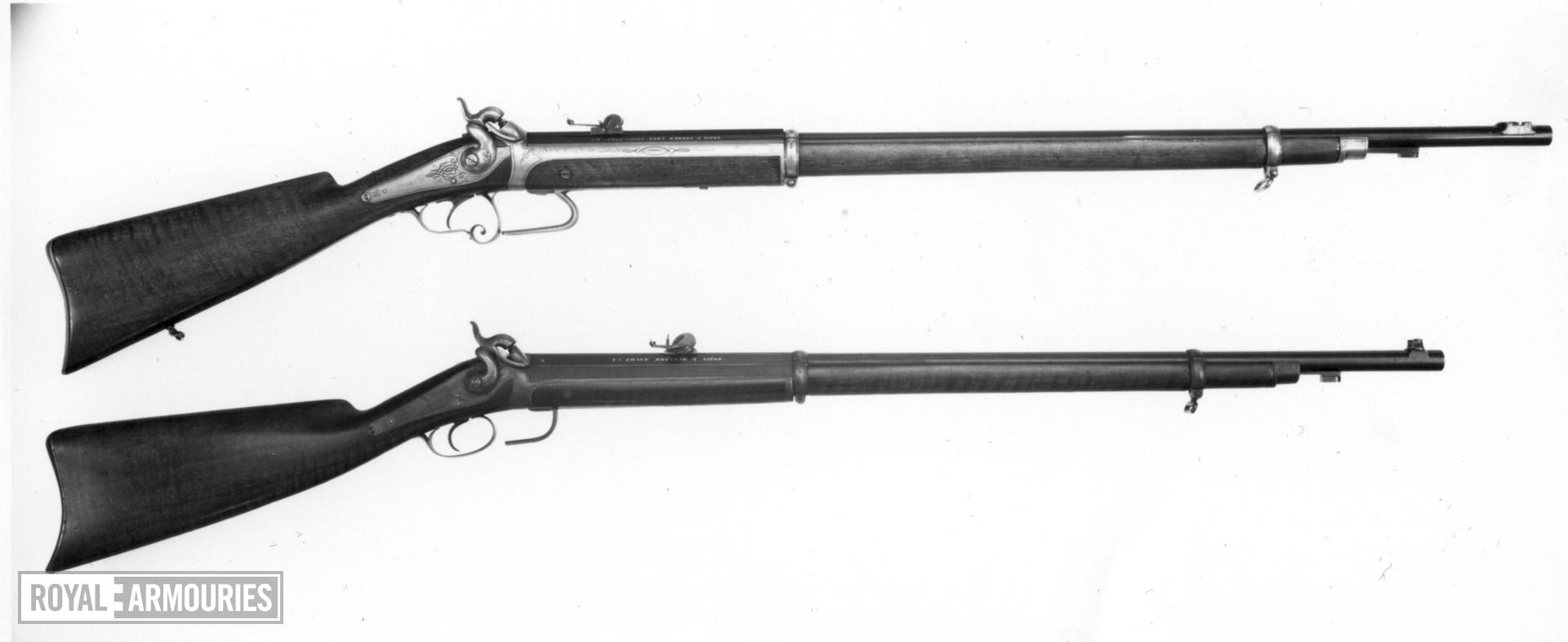 Percussion breech-loading rifle - By J. H. Jamar-Smits Ghaye system
